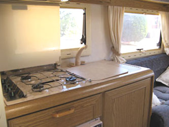 VW T4 Autohomes Explorer Sink and Drainer