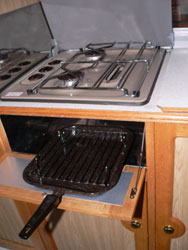 VW T4 Autohomes Karisma Cooker and Grill