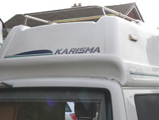 VW T4 Autohomes Karisma Rear Ladder and Roof Rack