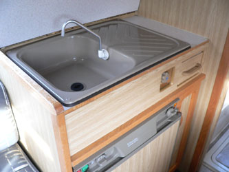 VW T4 Autohomes Karisma Sink and Tap