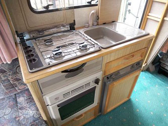 VW T4 Autohomes Merlin Kitchen Unit
