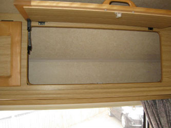 VW T4 Autohomes Merlin Overhead Locker